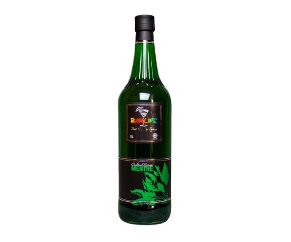 Сироп Barlife (Барлайф) Мята пряная 1 л (Syrup Barlife Spicy Mint 1 L)