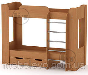 Кровать двухъярусная Твикс-2 1522х908х1974мм  70х190  Компанит