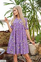 Сукня жіноча літнє до середини стегна на гудзиках вільного крою р-ри 42-48 арт. 392