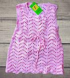 Детское платье-туника с кардиганом машинная вязка+внутри подклад, фото 4