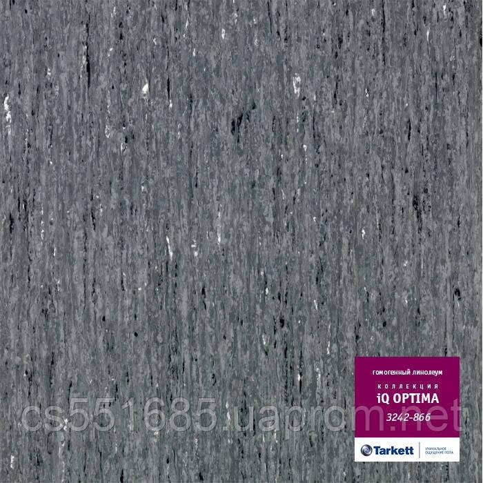 3242 866 - коммерческий линолеум гомогенный 34 класс, коллекция линолеум IQ Optima (Оптима) Tarkett (Таркетт)
