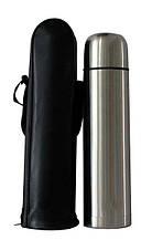 Термос металлический с чехлом Adenki 1 л 79-002378, КОД: 1868362
