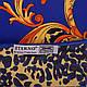 Стильный женский атласный платок размером 102*98 см ETERNO (ЭТЕРНО) ES0406-3-18, фото 2