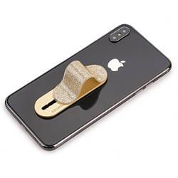 Держатель для телефона Momostick Pearl, золотой, лучше чем Попсокет и Кольцо!
