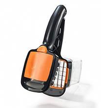 Овощерезка с контейнером Adenki Nicer Dicer Quick Оранжевая 77-00339-02, КОД: 1868291
