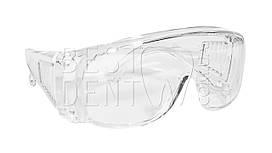 Очки защитные, пластиковые (прозрачные)