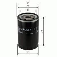 Фильтр масляный Kia Ceed (Сид) 1.4/1.6/2.0 (бензин) 2006-->2012 Bosch (Германия) 0 451 103 316