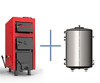 Пакетное предложение: твердотопливный котёл Ретра-5М_PLUS 10 кВт и теплоемкость Termico 300 л. без изоляции
