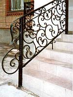 Металлические перила для балкона
