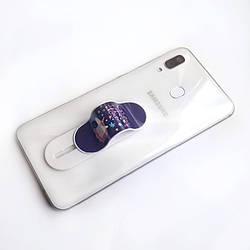 Держатель для телефона Momostick Graphic, единорог, лучше чем Попсокет и Кольцо!