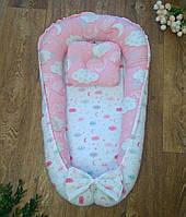 Позиционер двухсторонний с со съёмным дном для новорожденных  Ночь