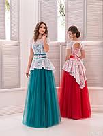 Вечернее платье (1) для выпускных вечеров и свидетельниц (цвета - в ассортименте)