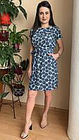 Красивое женское платье до колен