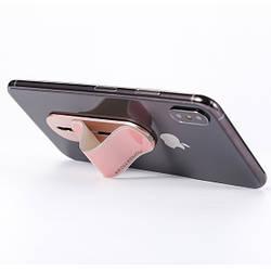 Держатель для телефона Momostick iSeries, розовый, лучше чем Попсокет и Кольцо!
