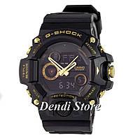Часы Casio G-Shock Triple Sensor Extra Black-Gold