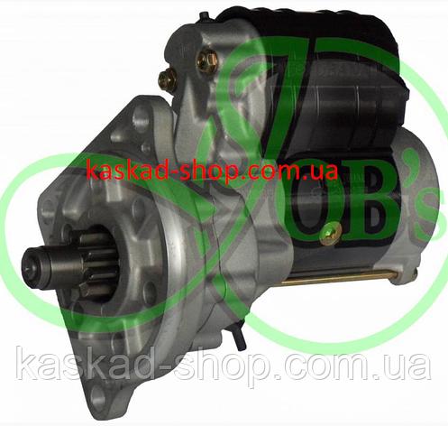 Стартер редукторний Fiat UTN 12в 2,8 кВт, фото 2