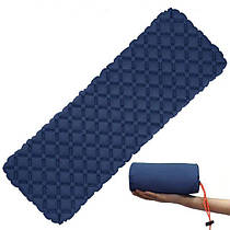 Влагостойкий тонкий матрас для палатки и пикника (Синий)