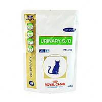Royal Canin Urinary Feline 100гр заболевания дистального отдела мочевыделительной системы 12шт