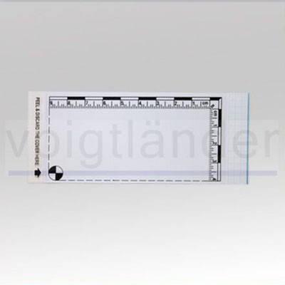 Плівка дактилоскопічна з метричною шкалою 100х115 мм прозора, фото 2