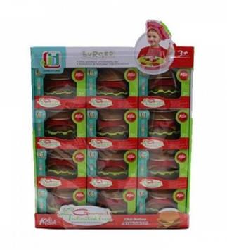 Гамбургер,у кор-ці,11х12,5х8см №602(120)