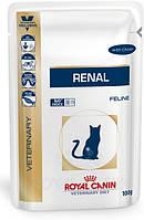Royal Canin Renal Feline 85 g с курицей почечная недостаточность 12шт