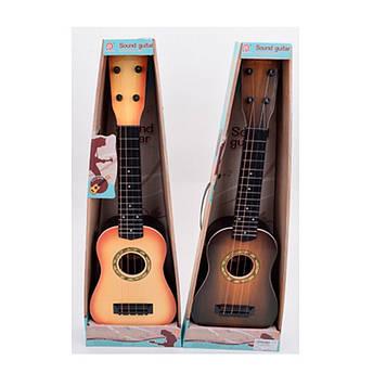 Гітара зі струнами,в кор-ці,20,5х8х61см,2 кольори №898-26AB(18)(36)