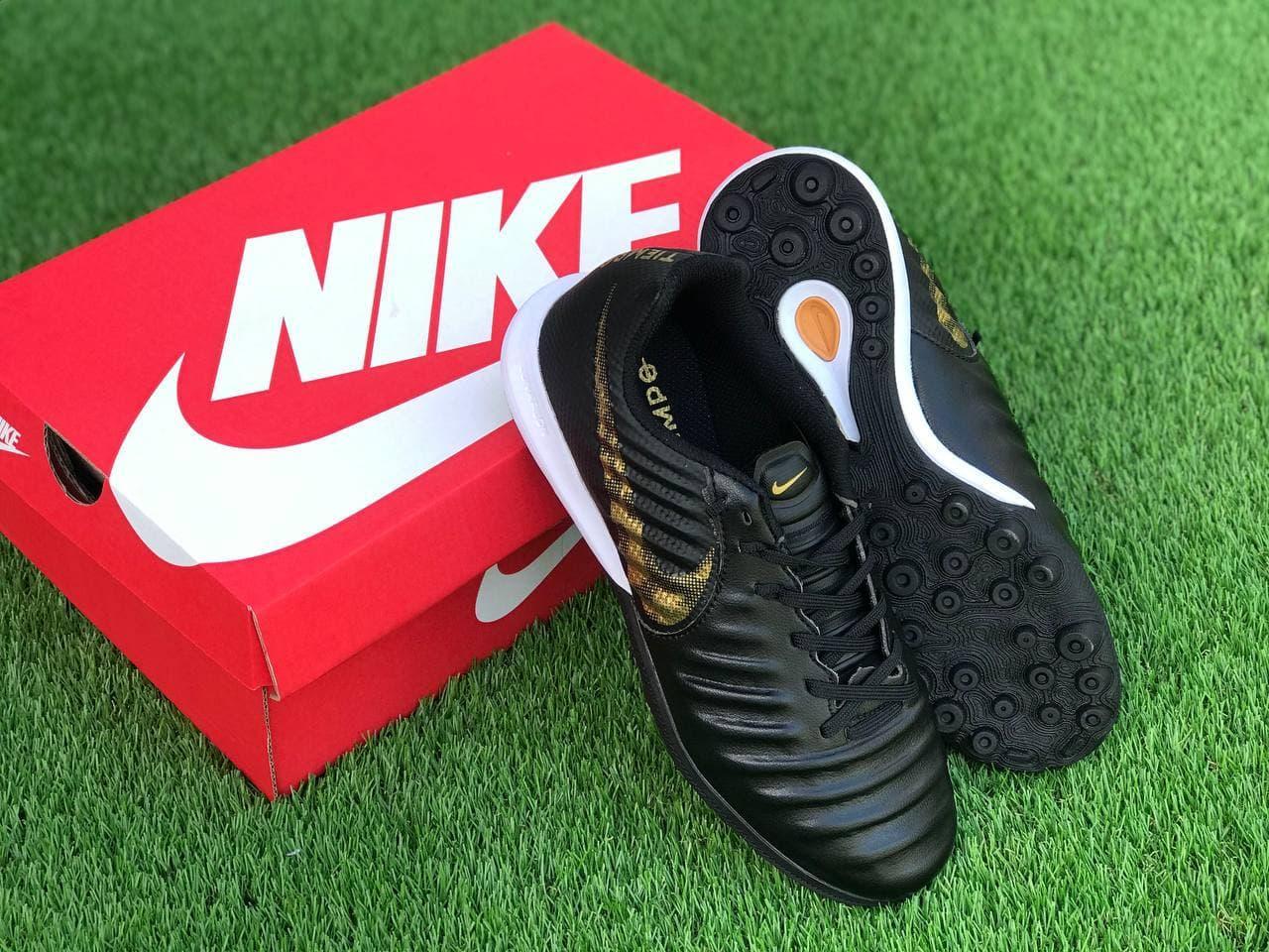 Футбольні Стоноги Nike Tiempo Х взуття для гри у футбол найк темпо Х