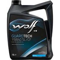 Моторное масло Wolf Guardtech SL/CF 15W-40 5л