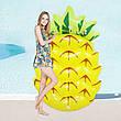 Пляжний надувний матрац - пліт Ананас 154х88х21 см, фото 3