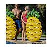 Пляжний надувний матрац - пліт Ананас 154х88х21 см, фото 4