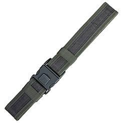 Пояс разгрузочный тактический ремень (синтетический, олива), ширина 5 см, макс. длина 110 см