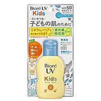 Солнцезащитное молочко для детей Biore UV Kids Pure Milk, SPF50+ PA++++, 70ml
