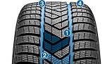 Зимние шины 255/40 R19 100V XL R01 Pirelli Winter Sottozero 3 , фото 2
