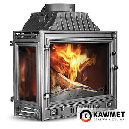 Каминная топка KAWMET W4 с левым боковым стеклом (14.5 kW), фото 2