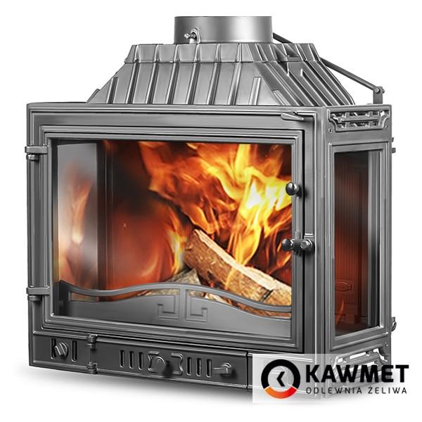Камінна топка KAWMET W4 тристороння (14.5 kW)