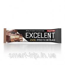 Протеиновый батончик Nutrend EXCELENT Protein Bar Double 85 g шоколад+нуга с клюквой
