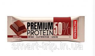 Протеиновый батончик Nutrend Premium Protein 50 Bar 50g шоколад
