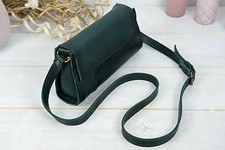 Женская сумка Френки Вечерняя, Кожа Итальянский краст, цвет Зеленый, фото 2