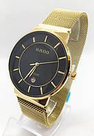 Годинники чоловічі наручні, золото з чорним циферблатом ( код: IBW662YB2 )