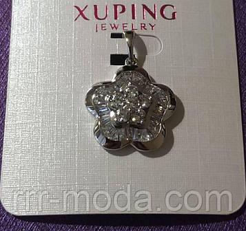 501. Круглые кулоны кристаллы - женские украшения с камнями оптом. Мед золото кулоны Xuping Jewelry