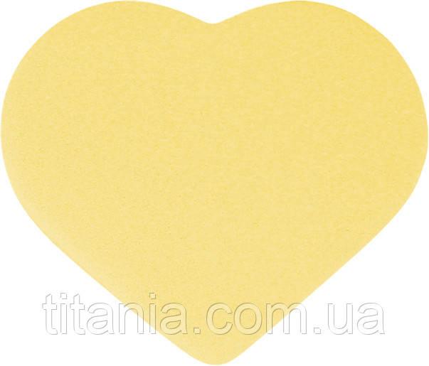 OUTLET косметичний Спонж для особи у вигляді серця TITANIA art.1928/1