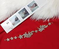 Веточка в прическу Finding Праздничное украшение для волос Серебристый ВТ021, фото 1