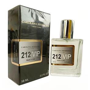 Carolina Herrera 212 VIP Men Perfume Newly мужской, 58 мл