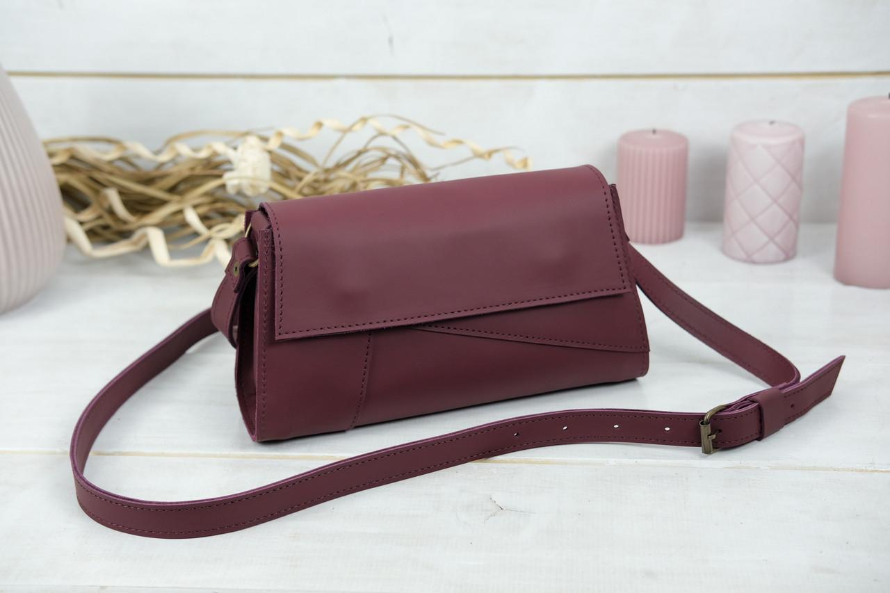 Женская сумка Френки Вечерняя, кожа Grand, цвет Бордо
