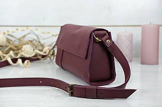 Жіноча сумка Френкі Вечірня, шкіра Grand, колір Бордо, фото 3