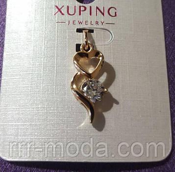 58 Модная подвеска кристалл. Позолоченная подвеска Xuping оптом