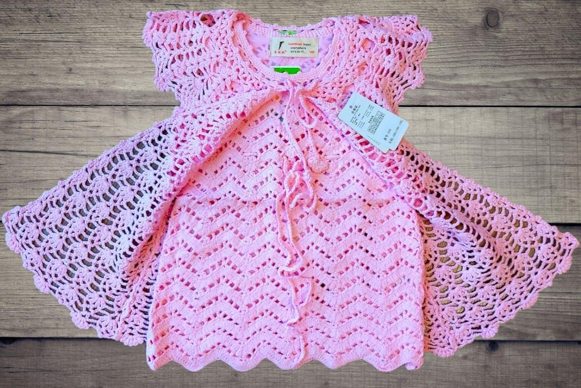 Детское платье-туника с кардиганом машинная вязка+внутри подклад