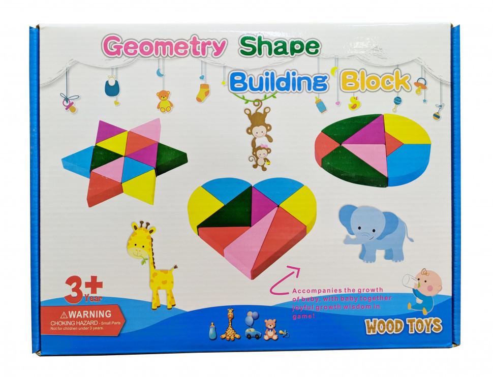 Развивающая игрушка Геометрика MD 2329 деревянная (2329C)