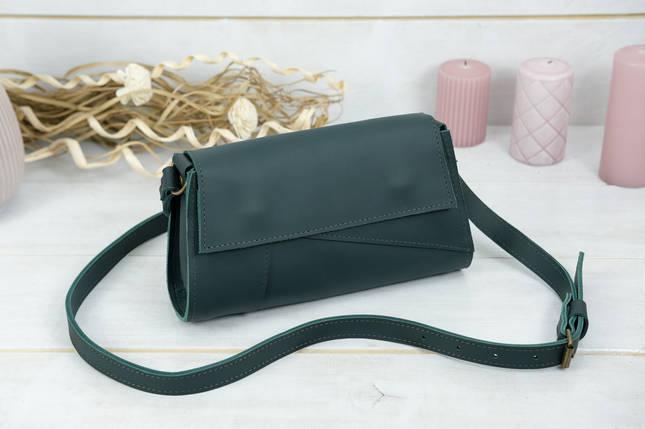 Женская сумка Френки Вечерняя, кожа Grand, цвет Зеленый, фото 2