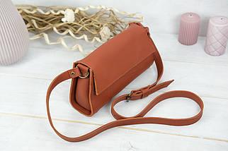 Женская сумка Френки Вечерняя, кожа Grand, цвет Коньяк, фото 2